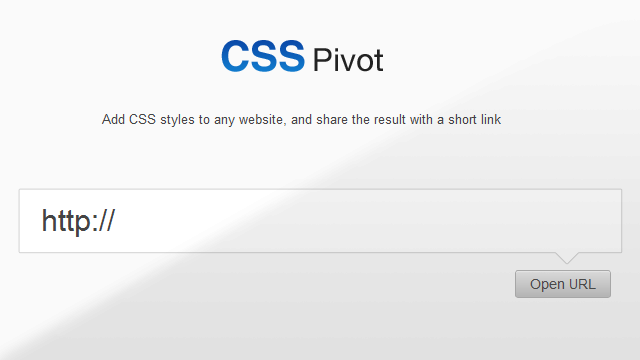 Preview image of 'CSS Pivot'
