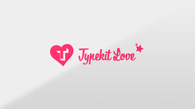 Preview image of 'Typekit Love'