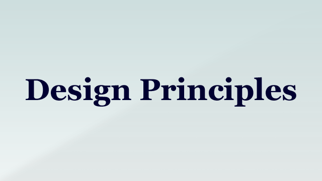 Preview image of 'Design Principles'