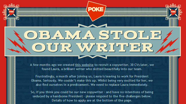 Preview image of 'Obama Stole Our Writer'