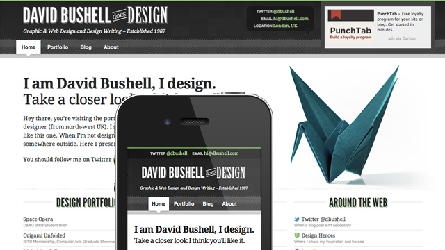 Preview image of 'dbushell.com v5'