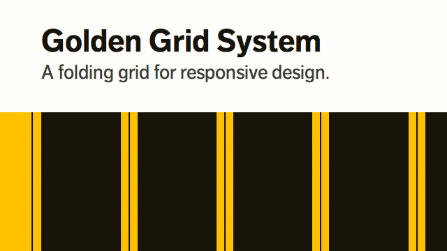 Preview image of 'Golden Grid System'