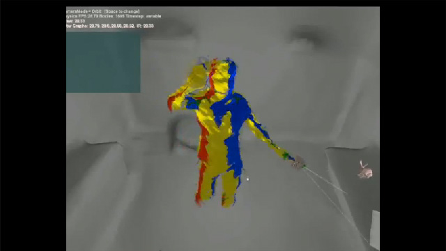 Preview image of 'Augmenting Indoor Spaces Using Interactive Environment-aware Handheld Projectors '