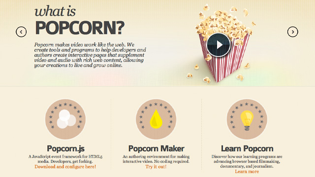 Preview image of 'Mozilla Popcorn'