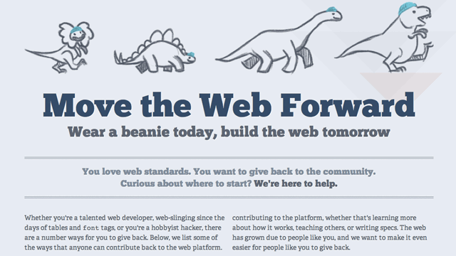Preview image of 'Move The Web Forward'