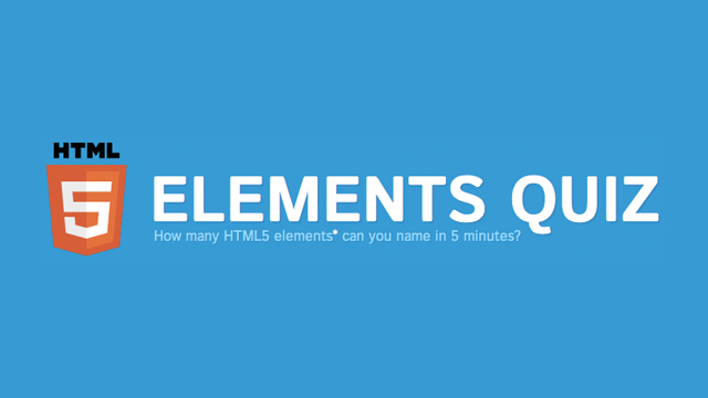 Preview image of 'The HTML5 Quiz'