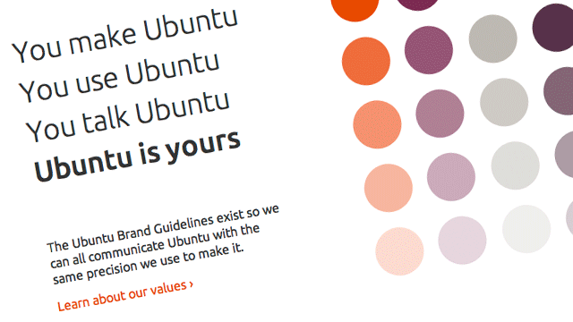 Preview image of 'Ubuntu Brand Guidelines'